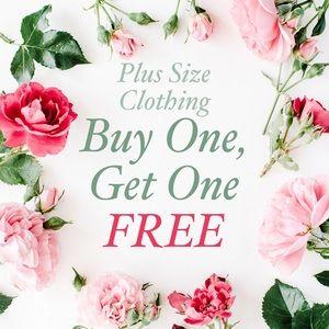 All Plus Size Clothing BOGO Free
